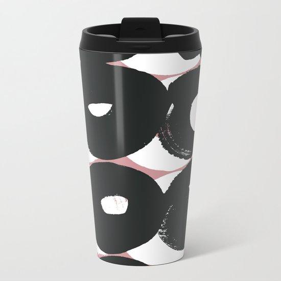 Pattern WN1 Metal Travel Mug