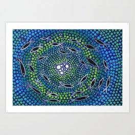 Fish - learning Art Print
