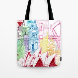 Sydney Towers Tote Bag