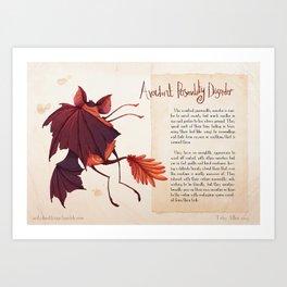 Real Monsters- Avoidant Art Print
