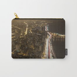 Lakeshore Chicago Night Shot Carry-All Pouch