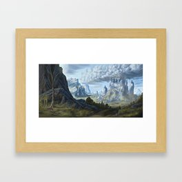 Old Bill and The Weathertop Framed Art Print