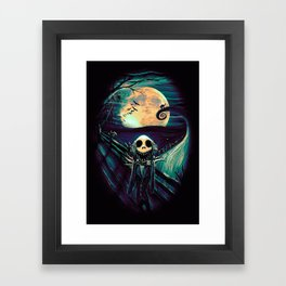 The Scream Before Christmas Framed Art Print