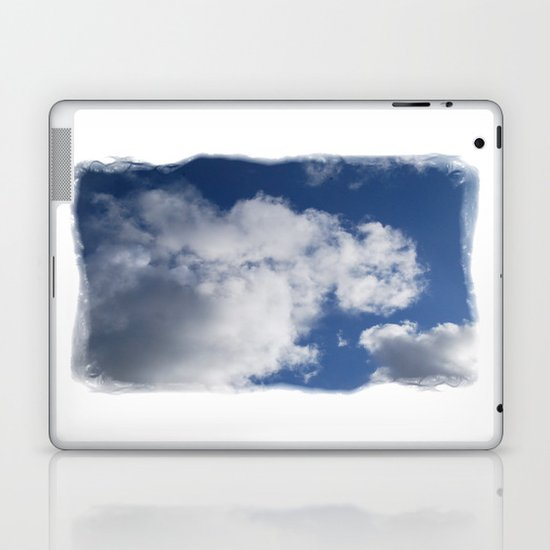 Clouds Over Hill Laptop & iPad Skin
