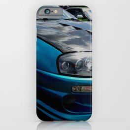shiny bonnet iPhone Case