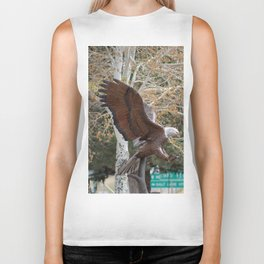 American Eagle and Birch Tree Biker Tank