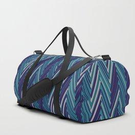Abstract Chevron II Duffle Bag