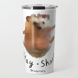 Juniper the Hedgehog (Stay Sharp) Travel Mug