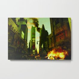 Deep Infection Metal Print