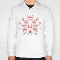 magnolia Hoodies featuring magnolia by Simona Borstnar
