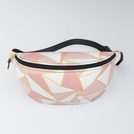 Ab Out Blush Gold 2 Fanny Pack