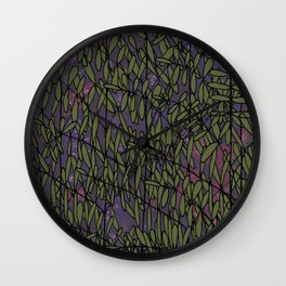 Fern Forest Wall Clock
