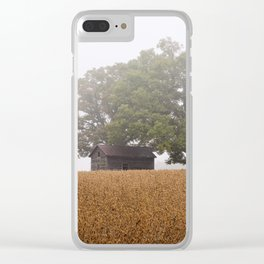 Aging Together 2 Clear iPhone Case