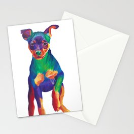 Min Pin Stationery Cards