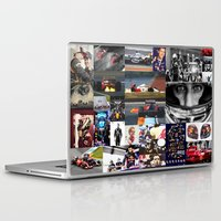 formula 1 Laptop & iPad Skins featuring Formula 1 Collage by Rassva