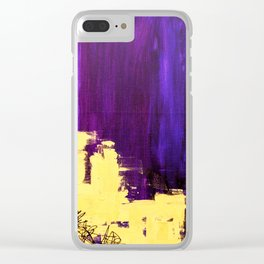 College Please Clear iPhone Case