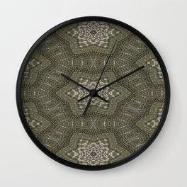 Recreational Mayhem Pattern 1 Wall Clock