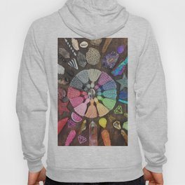 Rainbow Tassel Creative Inspiration Hoody