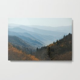 Smoky Mountain Fade Metal Print