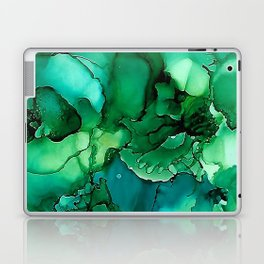 Into the Depths of Sea Green Mysteries Laptop & iPad Skin
