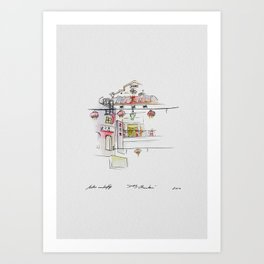 San Fransisco | China Town Art Print
