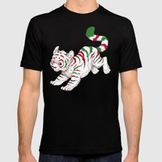 Candy Tiger MEDIUM Mens Fitted Tee Black