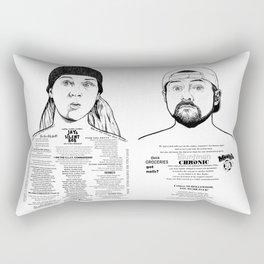 Jay & Silent Bob Rectangular Pillow