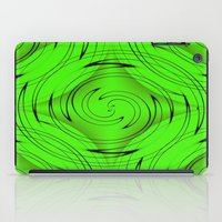 lime green iPad Cases featuring Lime Green by Sartoris ART