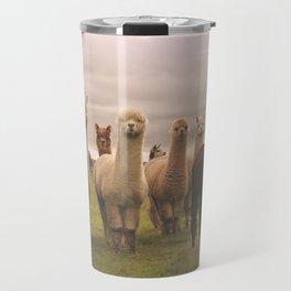 Alpacas at Tio Farm Travel Mug