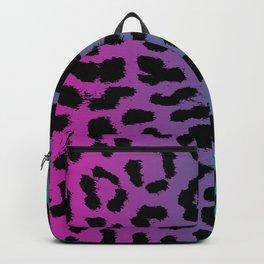 Rainbow Unicorn Colors Animal Pattern Cheetah Leopard Print cute gift mask pink purple blue green Backpack