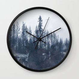 After the fire V Wall Clock