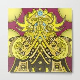 Mandala Man Metal Print