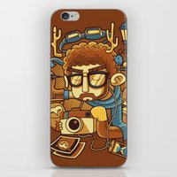 instagram iPhone & iPod Skins featuring Instagram by anggatantama