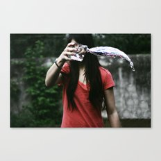 I can  Canvas Print