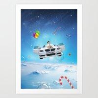 Joyfulness Art Print