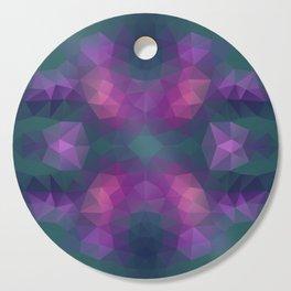 Mozaic design in bright colors Cutting Board