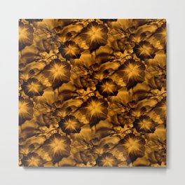 That Golden touch... Metal Print