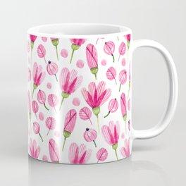 Pink flowers Nature Coffee Mug