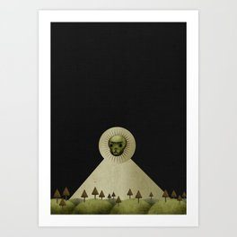 A Death In January Art Print