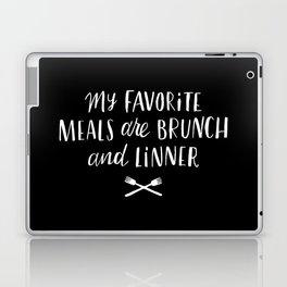 Favorite Meals Laptop & iPad Skin