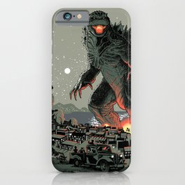 Godzilla - Gray Edition iPhone Case