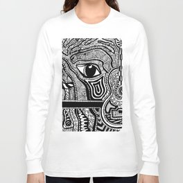 Face in Space Long Sleeve T-shirt