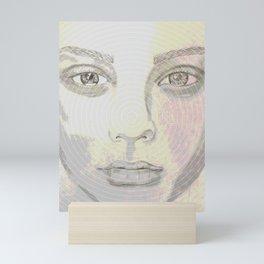 Circular Thoughts Mini Art Print