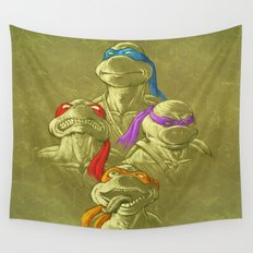 THE BROTHERHOOD Wall Tapestry