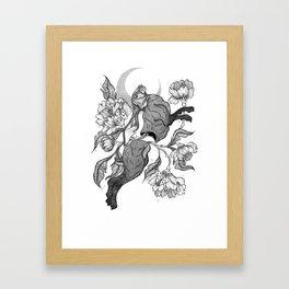uncontrollable nature Framed Art Print