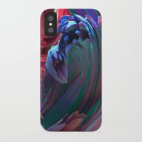 surf iPhone & iPod Cases featuring Surf by Choerte