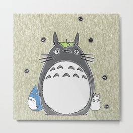 Will you be my neighbor Totoro? Version 1 Metal Print