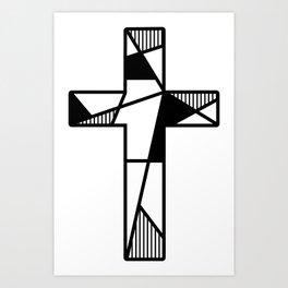 Meaning Cross Art Print