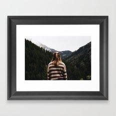 Eyes Forward Framed Art Print
