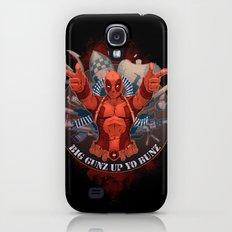 Deadpool Galaxy S4 Slim Case